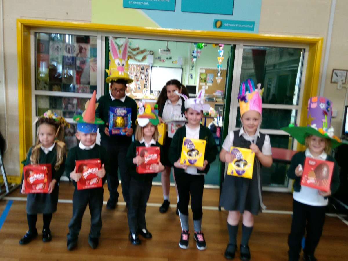 test Twitter Media - What super Easter bonnet winners! Thanks to @Tesco for our Easter eggs! #easteregg #easterbonnet https://t.co/rxMJsMl3Lo