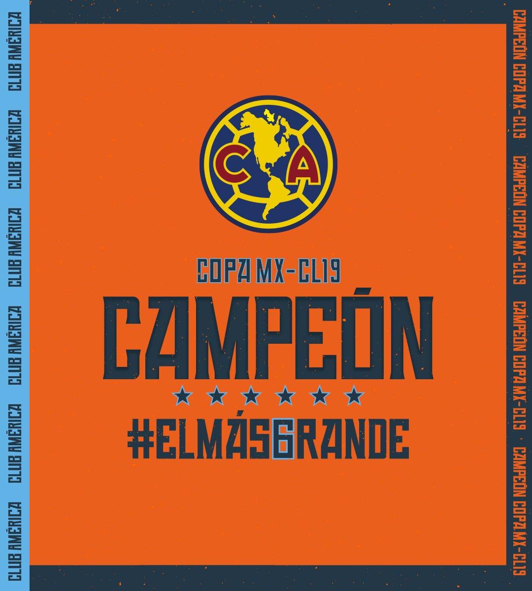 RT @ClubAmerica: ????????????????????????  ¡ L A  S E X T A ! #ELMÁS6RANDE https://t.co/TdTLcM8Sbh