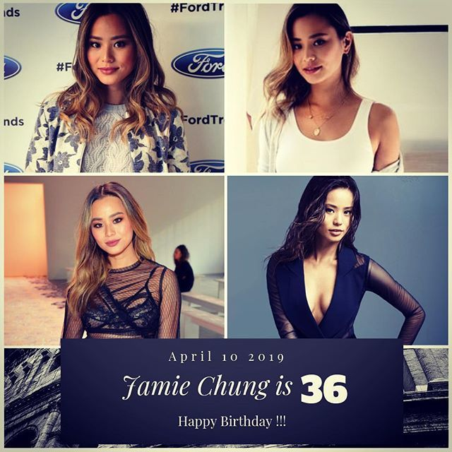 Actress Jamie Chung turns 36 today !!!    to wish her a happy Birthday !!!