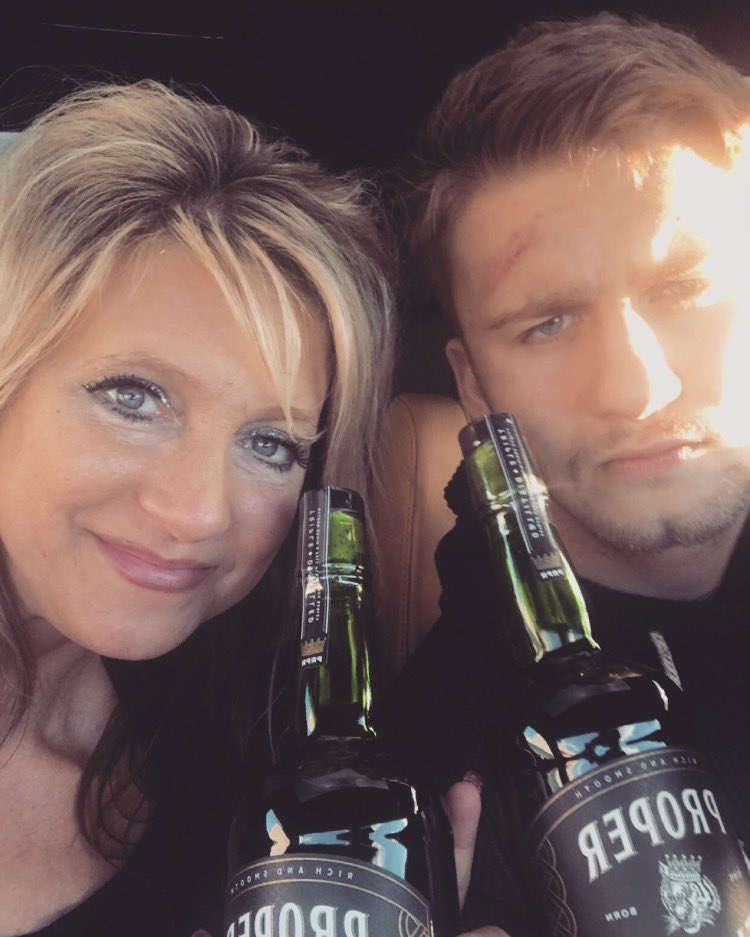 RT @TristonLaw: @TheNotoriousMMA me and my Momma love us some good Proper 12! https://t.co/qWrR6adhDn