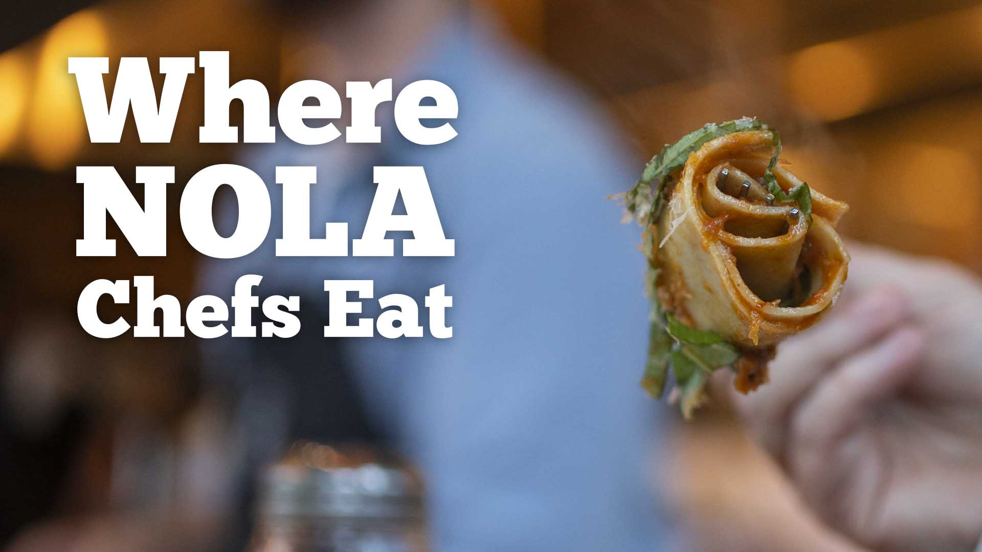 If there's anyone who knows the best places to eat in New Orleans it would be a chef, right? Introducing the new series #WhereNOLAChefsEat starting Monday, April 15. https://t.co/2zwo7Jll65