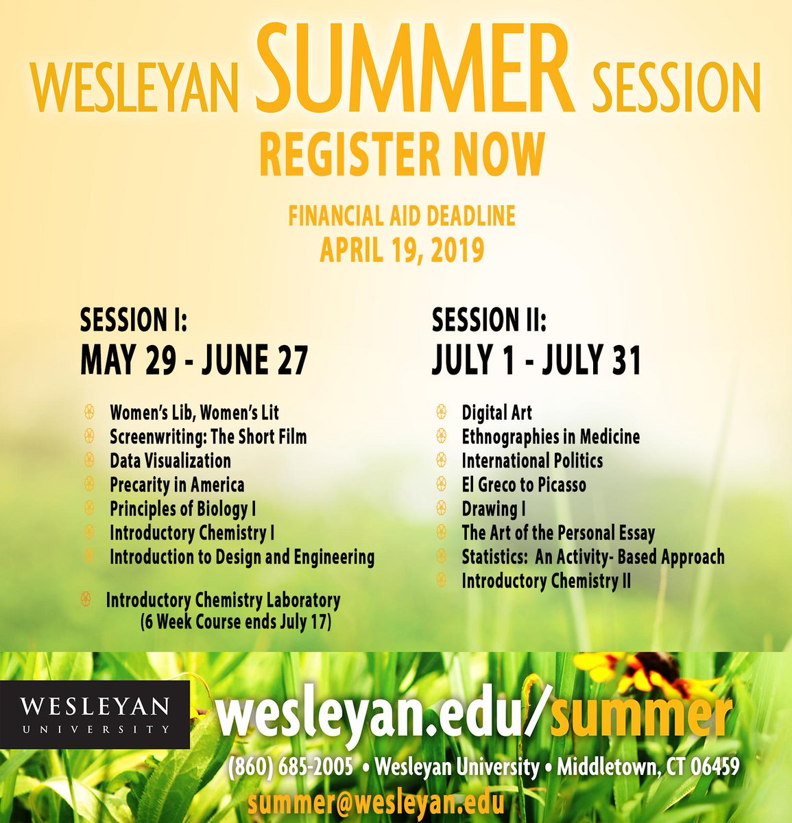 test Twitter Media - Summer Session registration is now open! Enrich your summer by enrolling today. Visit https://t.co/fZEG5sM9ha.  #summeratwes https://t.co/vuNPSUqMU7