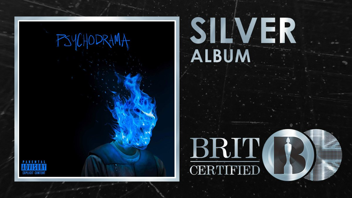 RT @BRITs: 🔥 It's Silver for @Santandave1's #BRITcertified debut album 'Psychodrama'! 🇬🇧💿 https://t.co/NVF5lA010m