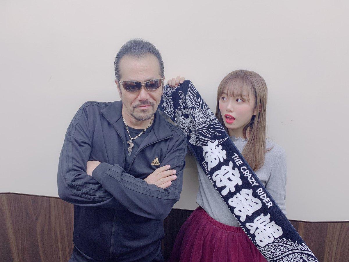 飯野雅が横浜銀蝿のライブへ