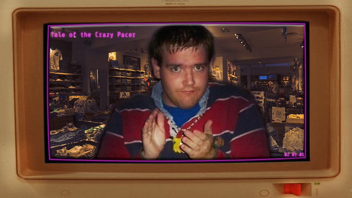 test Twitter Media - Arguably the most notable independent account of Chris, this entry disproved any suspicion that Chris was a troll or an elaborate hoax. (cwcki entry)  Check out this week's terminal: the Tale of the Crazy Pacer.   https://t.co/aUFp1cMcAW https://t.co/60NUBfufEf