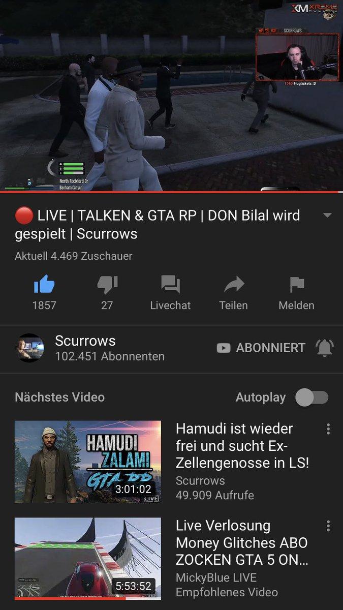 Schaut vorbei bei @Scurrows auf YouTube bester streamer er macht einfach bestes RP Feier dich mega https://t.co/bx0xAdIwJb