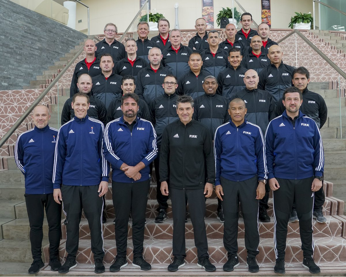 The future of VAR is now: Video Assistant Referee (VAR) instructors from 19 Member Association successfully completed a course organized by FIFA in Doha this week #FootballTechnology