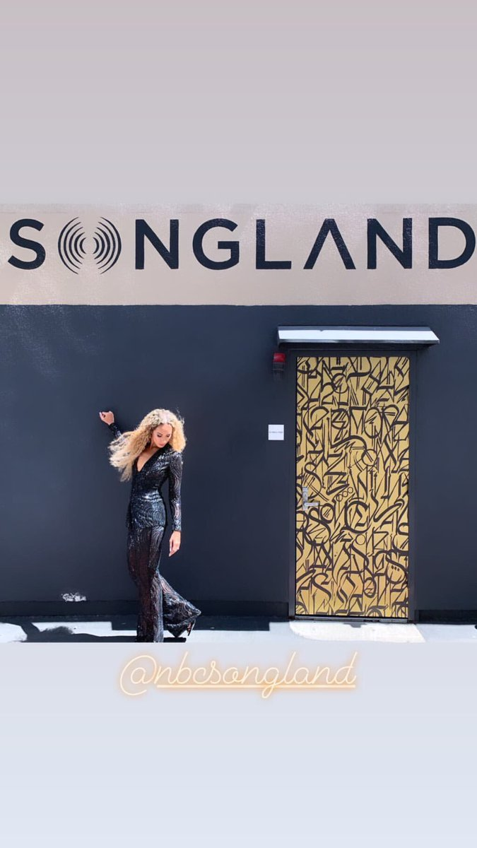 So much fun filming today @NBCSongland ????✨???? https://t.co/VQyWWMnrTT