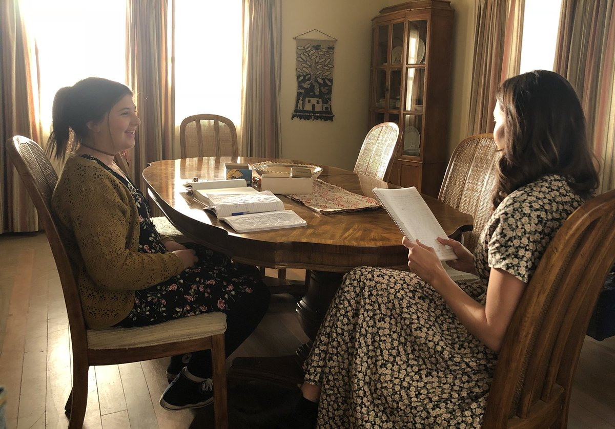 Getting our homework done in time for the season finale, you? #ThisIsUs https://t.co/wP3v76kxKd