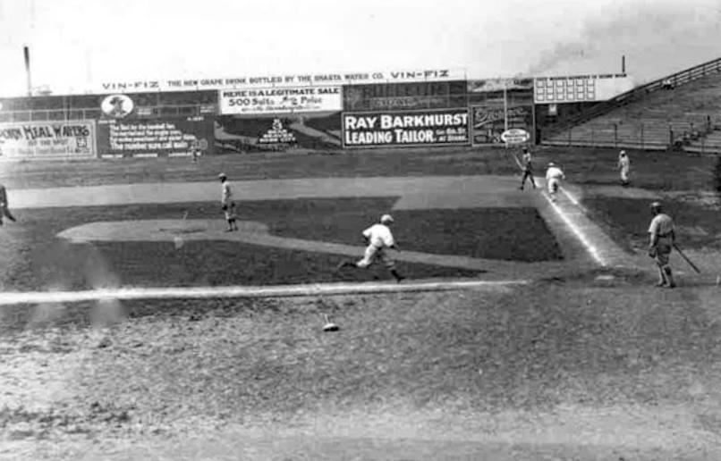 Vaughn Street Park, Portland, OR, 1912 - Portland Beavers would suffer their first losing season since 1907, finishing with 85-100 record (yes, PCL played that many bloody games) and 5th place. Al Klawitter led team with 23 wins and Bill Rodgers was tops with the bat hitting .306 https://t.co/v3RpHhhUyw