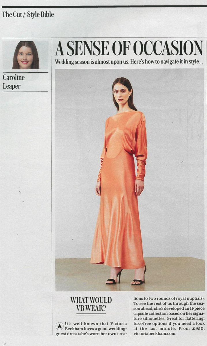 Thank you @TeleFashion for featuring my dress capsule. Discover it at https://t.co/fWOf8zIdBO x VB https://t.co/lR2yRgvEYX