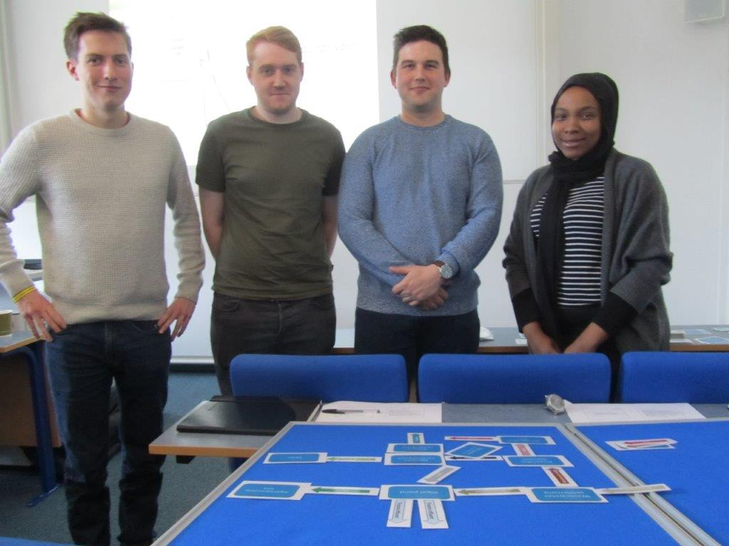 test Twitter Media - CDTSIS students on the Sustainable Infrastructure Systems intensive module building process flowcharts for energy-positive algal wastewater treatment systems during Dr Sonia Heavens session on the 01/04/19. Well done to everyone for your hard work! @unisouthampton @UoSEngineering https://t.co/FWyj8jwhhm