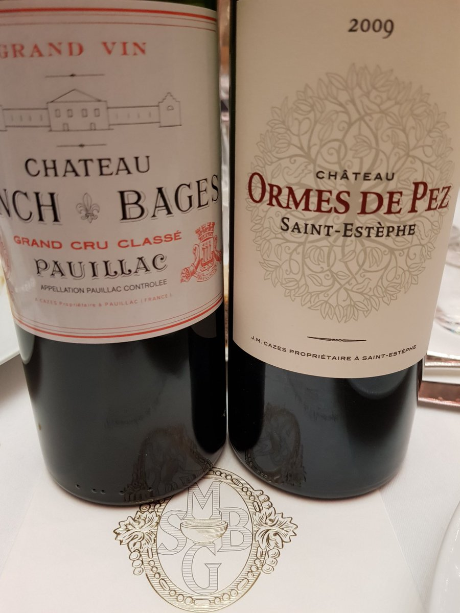 Fun with Ch Lynch Bages tonight (@LynneCoyleMW) https://t.co/yUquFPjzC8