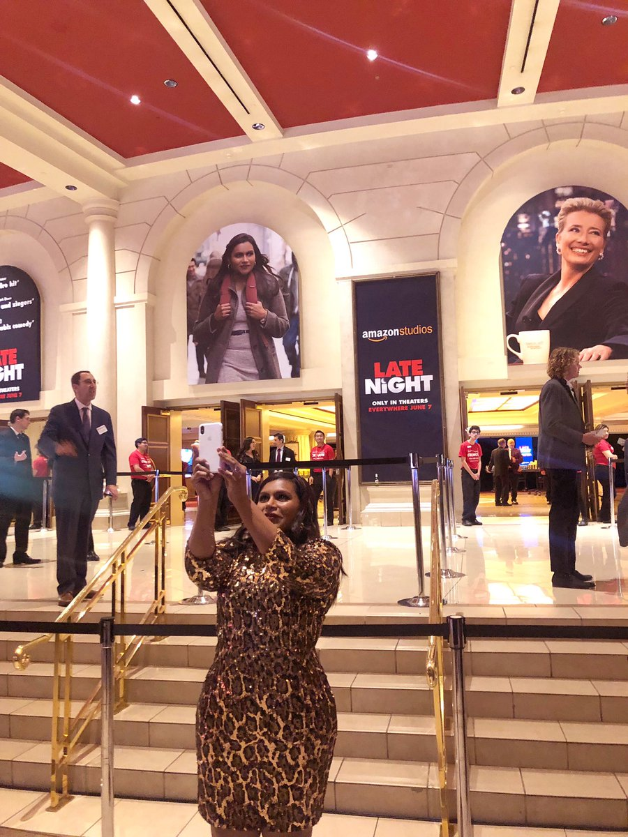 Vegas, baby! @LateNightMovie #CinemaCon ???????? https://t.co/JB5laUGVn5