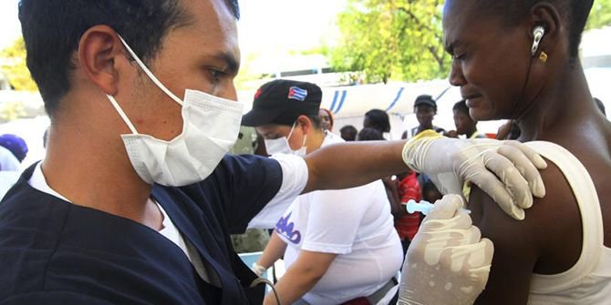 test Twitter Media - Interesting read on how Cuba's prevention-oriented, and community-based integrated health system offers many lessons for improving #healthsecurity, especially in resource-poor settings: https://t.co/H2QaWlUwSX #SDGs #UHCs #healthaccess https://t.co/GVnvvBvjoJ