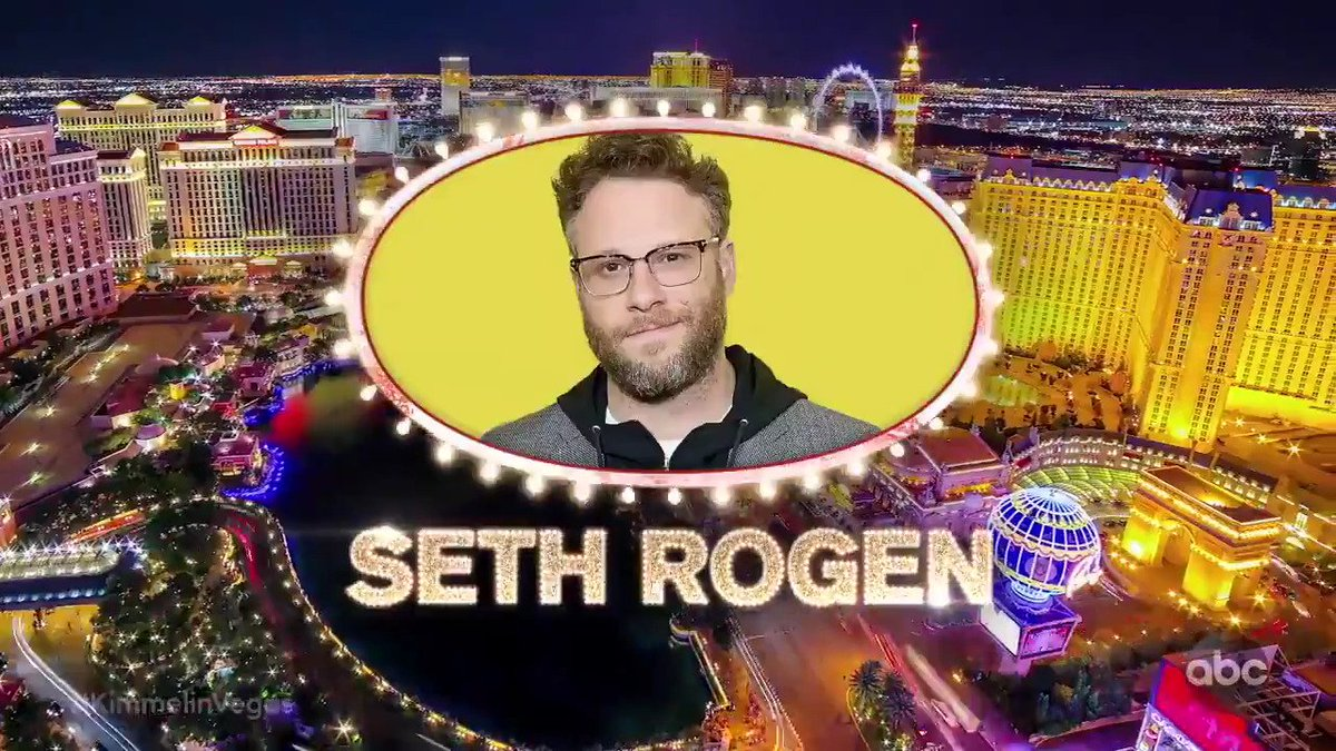 RT @JimmyKimmelLive: #KimmelinVegas TONIGHT with @SethRogen, @MikeTyson & @IggyAzalea! https://t.co/U9LfBXyIqj