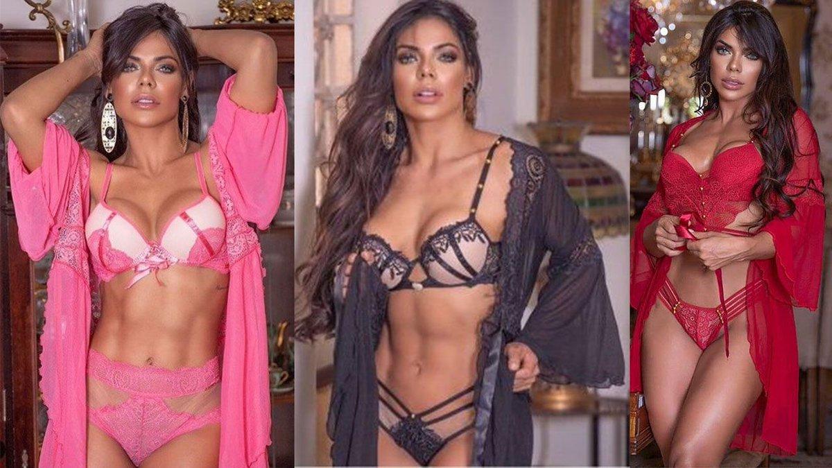 RT @sporthiva: Miss BumBum Suzy Cortez enciende la redes al modelar sexy lencería https://t.co/Rd8GG7YQOU https://t.co/K3NIKHl5w3