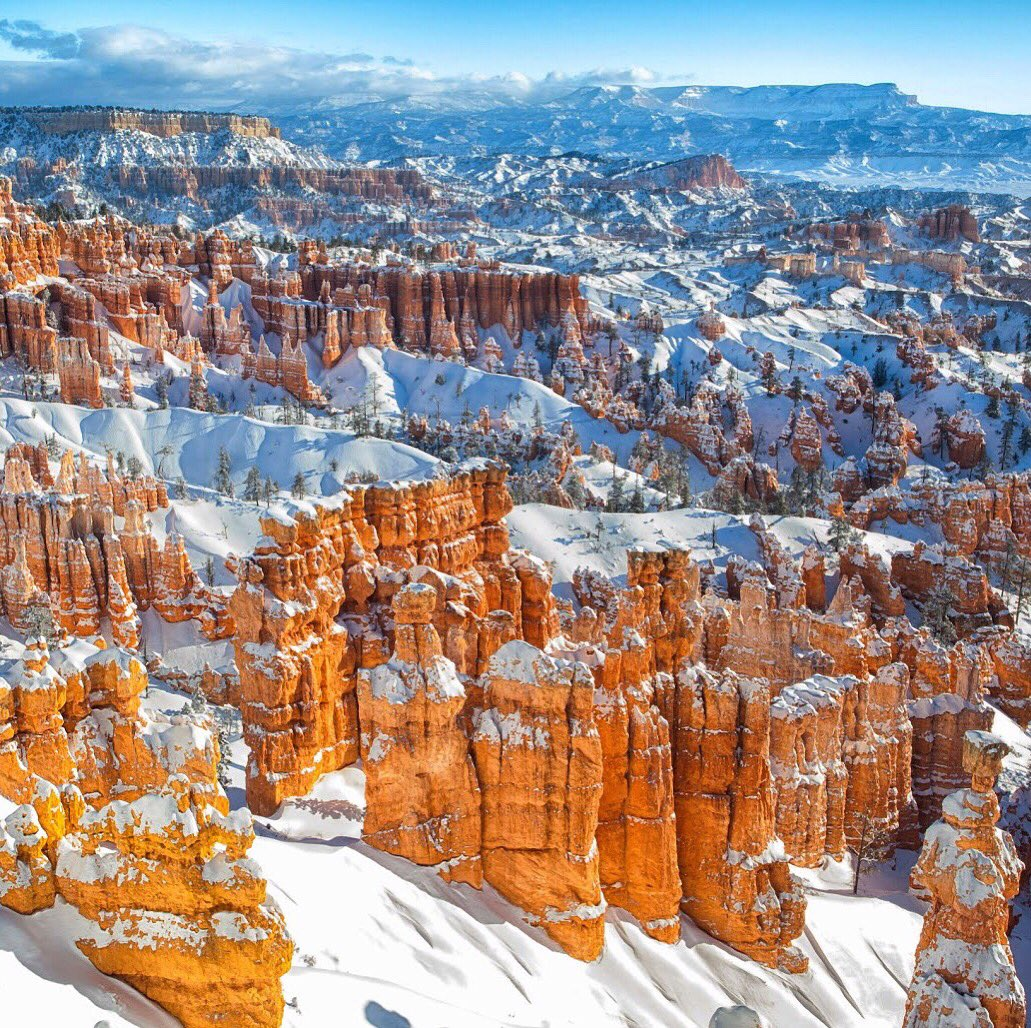 This breathtaking view is brought to you by @BryceCanyonNPS. One of America's best canyons. Pic by Gary Fua #Utah #FindYourPark https://t.co/sTdsqDynAc