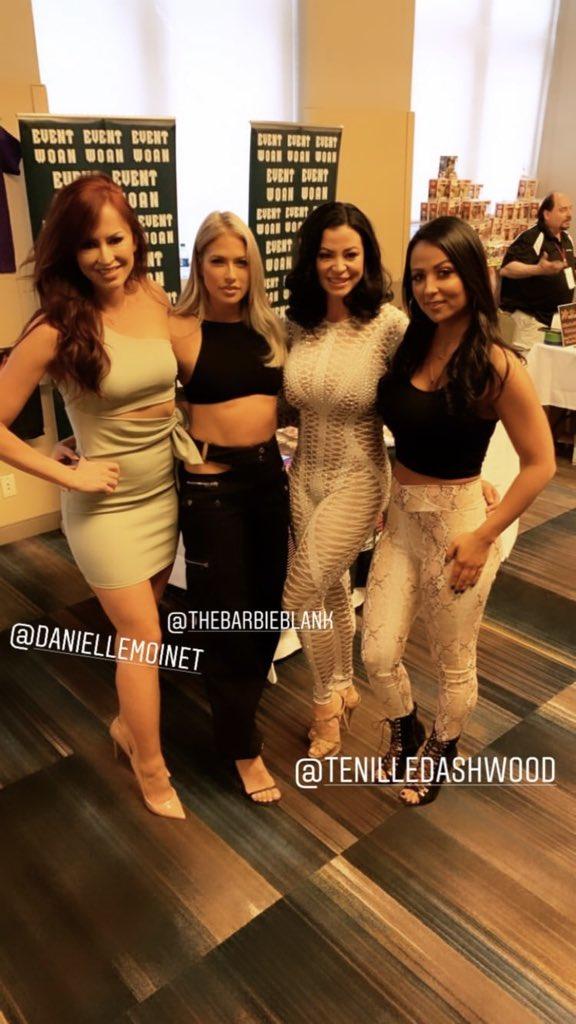 RT @KellysLIVin: They're all so gorgeous!! ????❤️ @TheBarbieBlank @DanielleMoinet @DIVACANDICEM @TenilleDashwood https://t.co/673qNvQ8O7