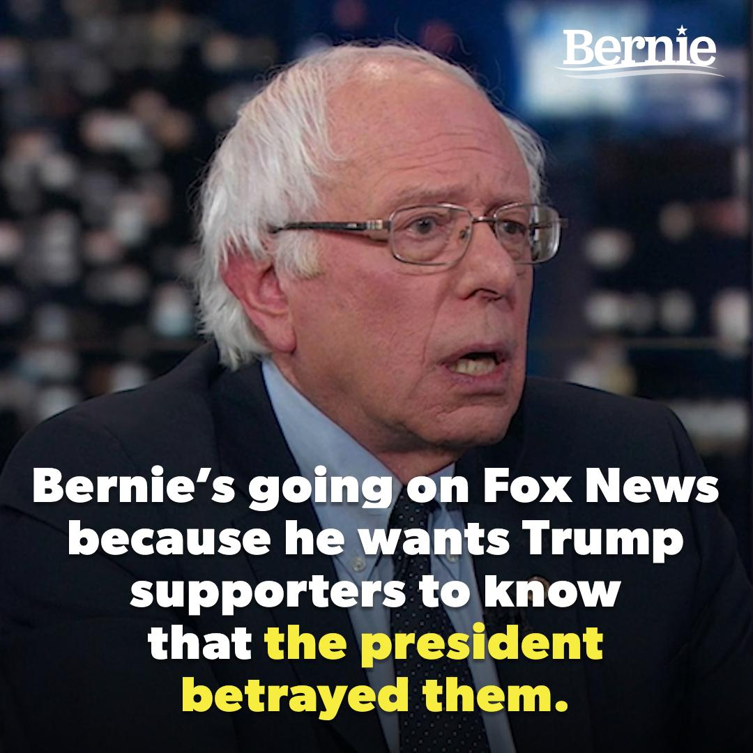 RT @BernieSanders: We must expose Donald Trump as the fraud and the liar that he is. https://t.co/NGolOPPbfK