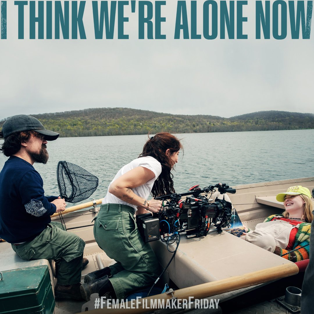 Behind the scenes of I THINK WE'RE ALONE NOW with Peter Dinklage, Elle Fanning and director+cinematographer @ReedMorano. Morano also directed episodes of The Handmaid's Tale and became the first woman to win the Emmy award for directing a drama series.  #FemaleFilmmakerFriday https://t.co/O8ueGZ8ZS5