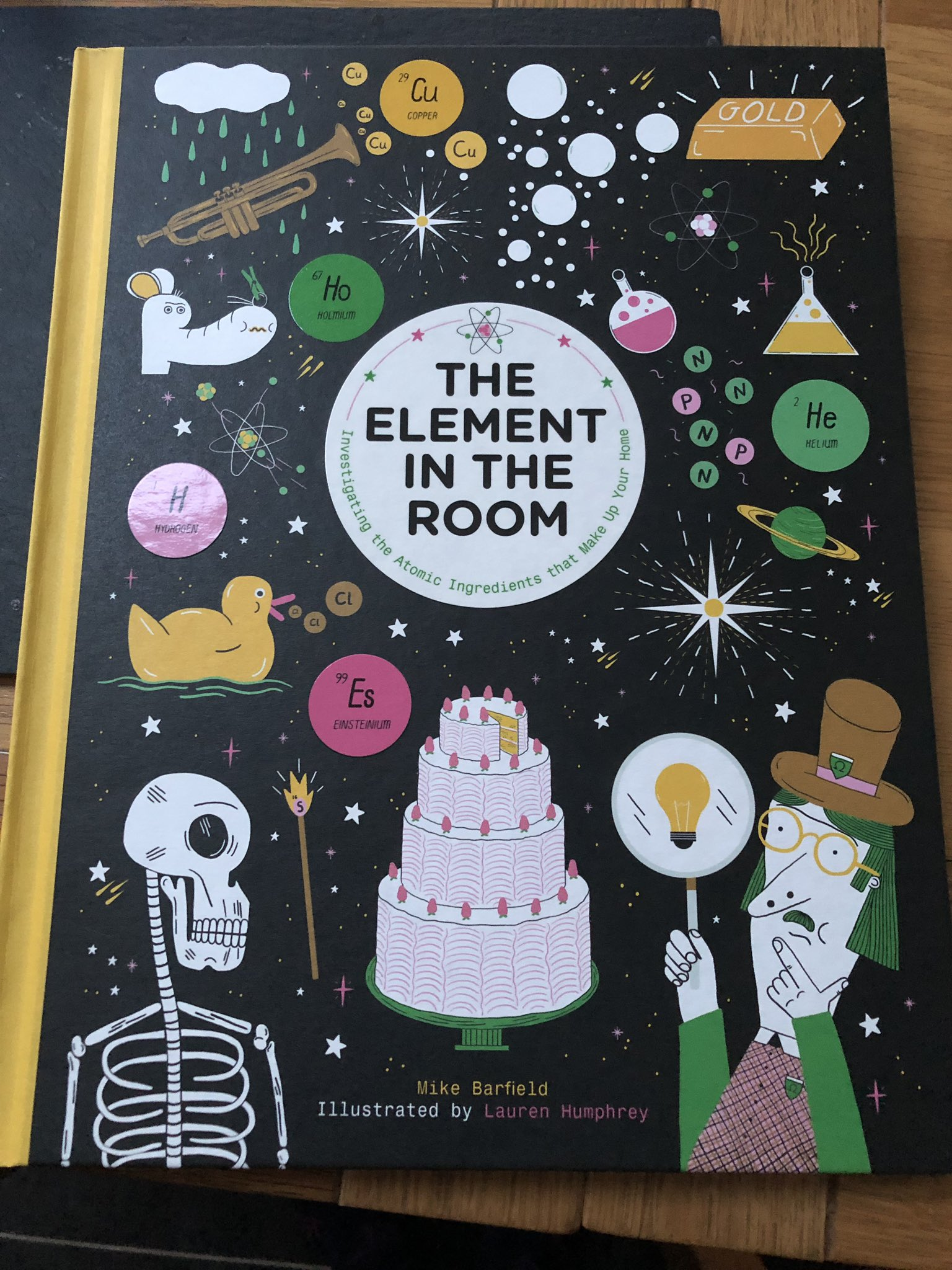 My 9yr old daughter bought a brilliant book today @jodrellbank so pleased she's becoming interested in science! #IYPT2019 #chemistry #sciencemum https://t.co/xRd3kzZ8HS
