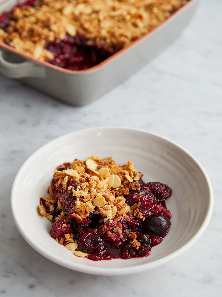 If the frozen fruit and almond crumble ???? is right up your street, you need THIS recipe: https://t.co/zpINnOdwCD https://t.co/zfg7XYU9XR