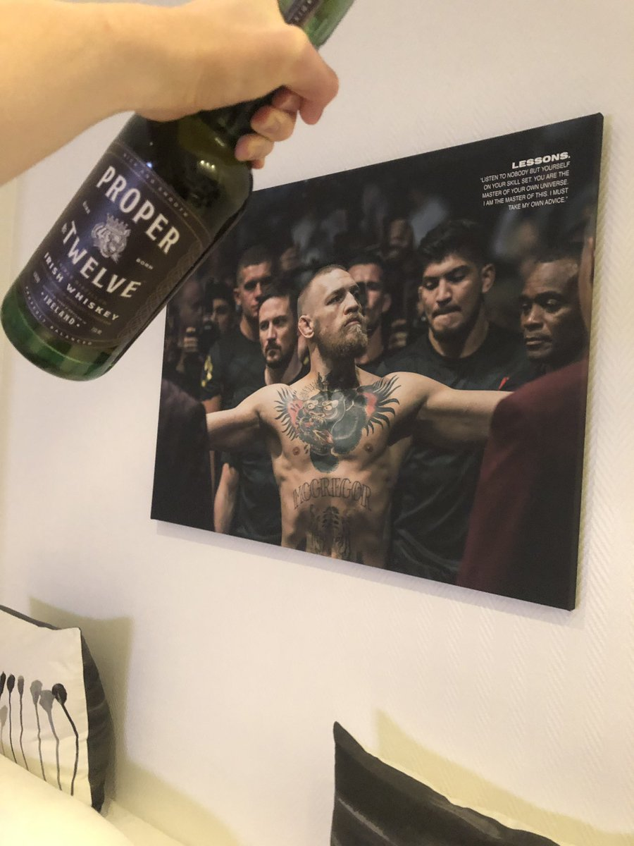 "RT @bckns: Proper ""prost!"" from Berlin, champ champ ???????? @TheNotoriousMMA @ProperWhiskey https://t.co/ABcj4xw9fQ"