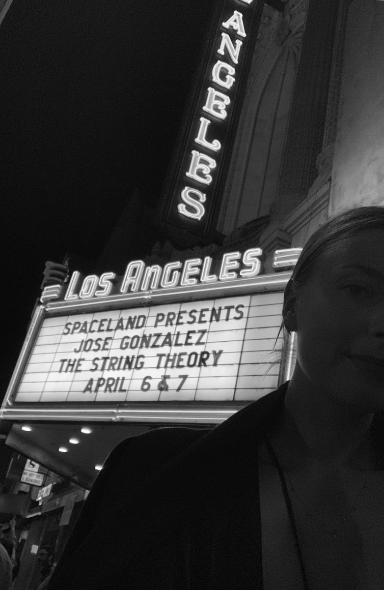 Bucket list ????????Seeing Jose Gonzalez live at The Los Angeles Theater https://t.co/igEw17jB7f