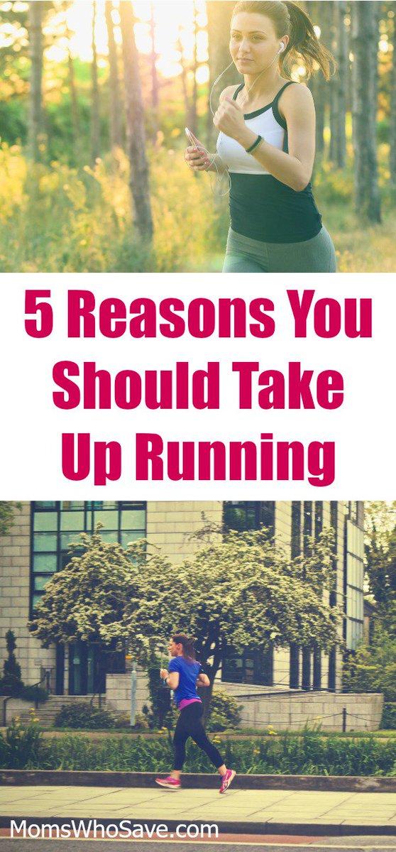 RT @MomsWhoSave: 5 Reasons to Take up Running  👉    #health #running #fitness