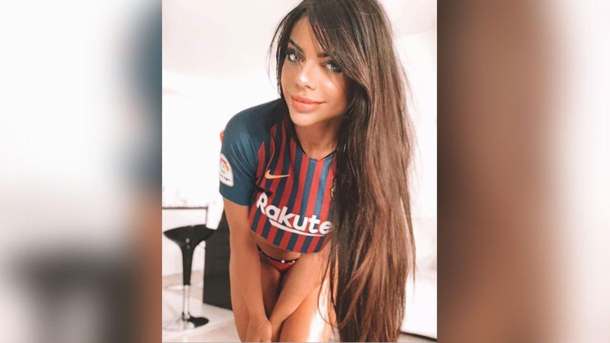 RT @sporthiva: Suzy Cortez deja clara su admiración por Messi con foto sensual de su trasero https://t.co/tkBr82Gd5Y https://t.co/Q96R02P9k9