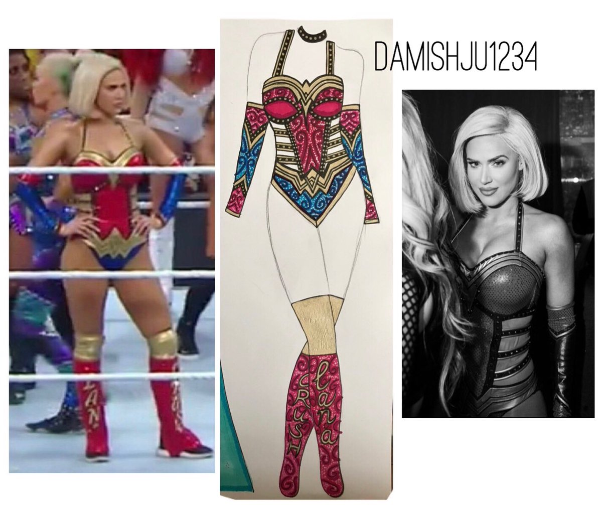 RT @damishju1234: Thank you so much for using it ???? @LanaWWE  #honored https://t.co/CclvrPqbKn