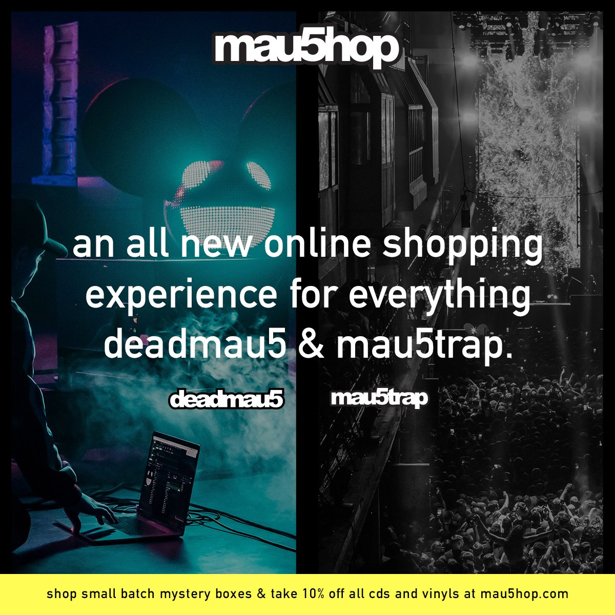 new mau5hop is open for business! https://t.co/F6g16UhvvO https://t.co/rMZ85757F2