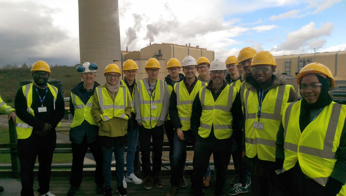 test Twitter Media - On 2nd April 2019 the CDT-SIS students in their taught year visited Didcot Power Station as part of the FEEG6021 Sustainable Infrastructure Systems module. https://t.co/6De6Jz99tI