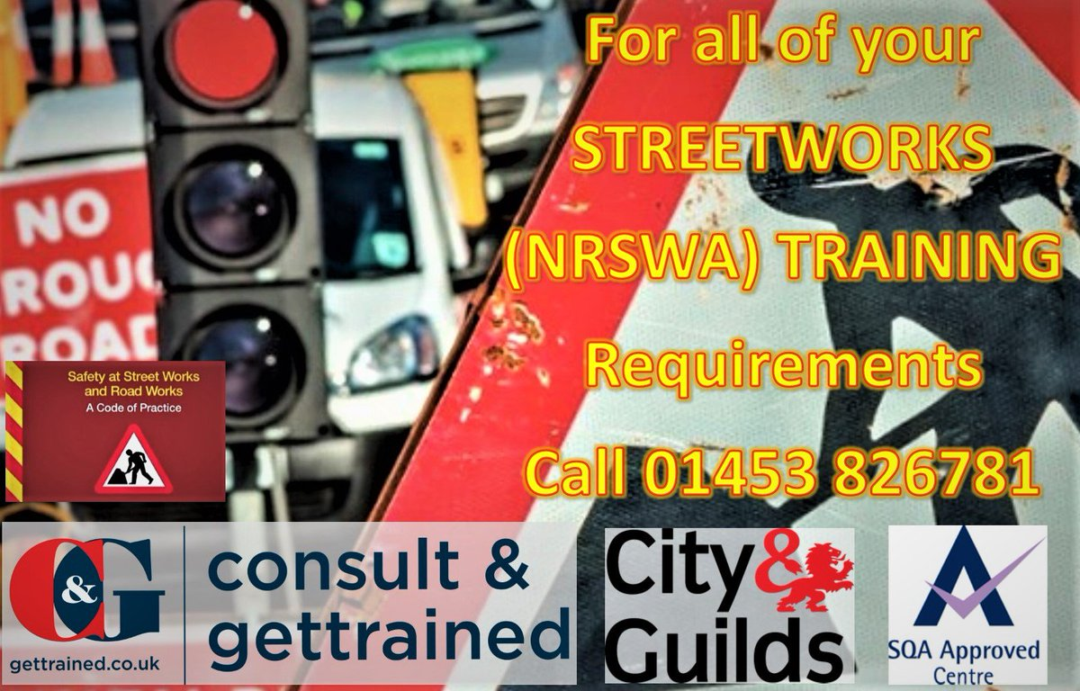 test Twitter Media - Great deals on #NRSWA #Streetworks training now on. Call us on 01453 826781 for details now.#training #scotvec #hauc #chapter8 https://t.co/TiASu4HiGL