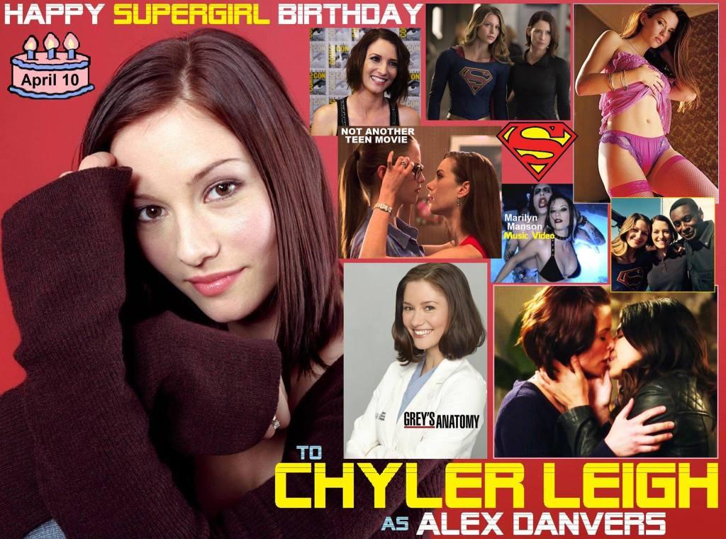 Happy birthday Chyler Leigh, born April 10,1982.