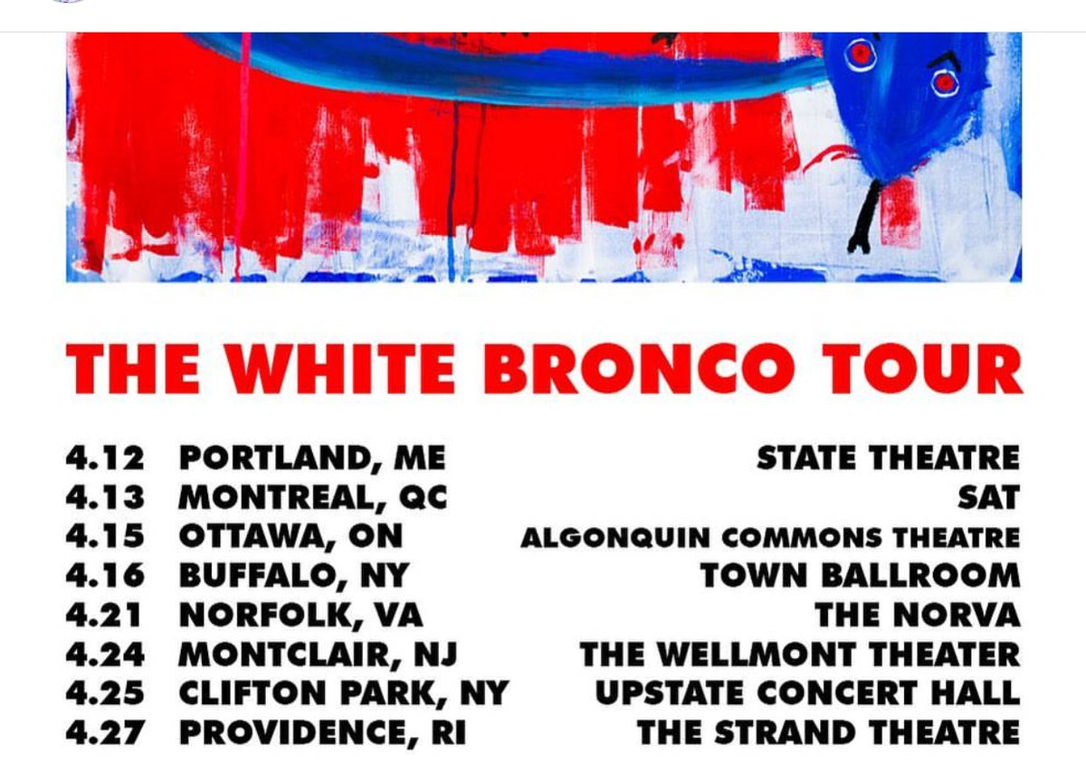 THIS WEEK IM BACK AT IT MANG WITH MY BROTHER @MeyhemLauren WE SHALL DEMOLISH. WHITE BRONCO TOUR 2019. https://t.co/x7H9OSZaGJ