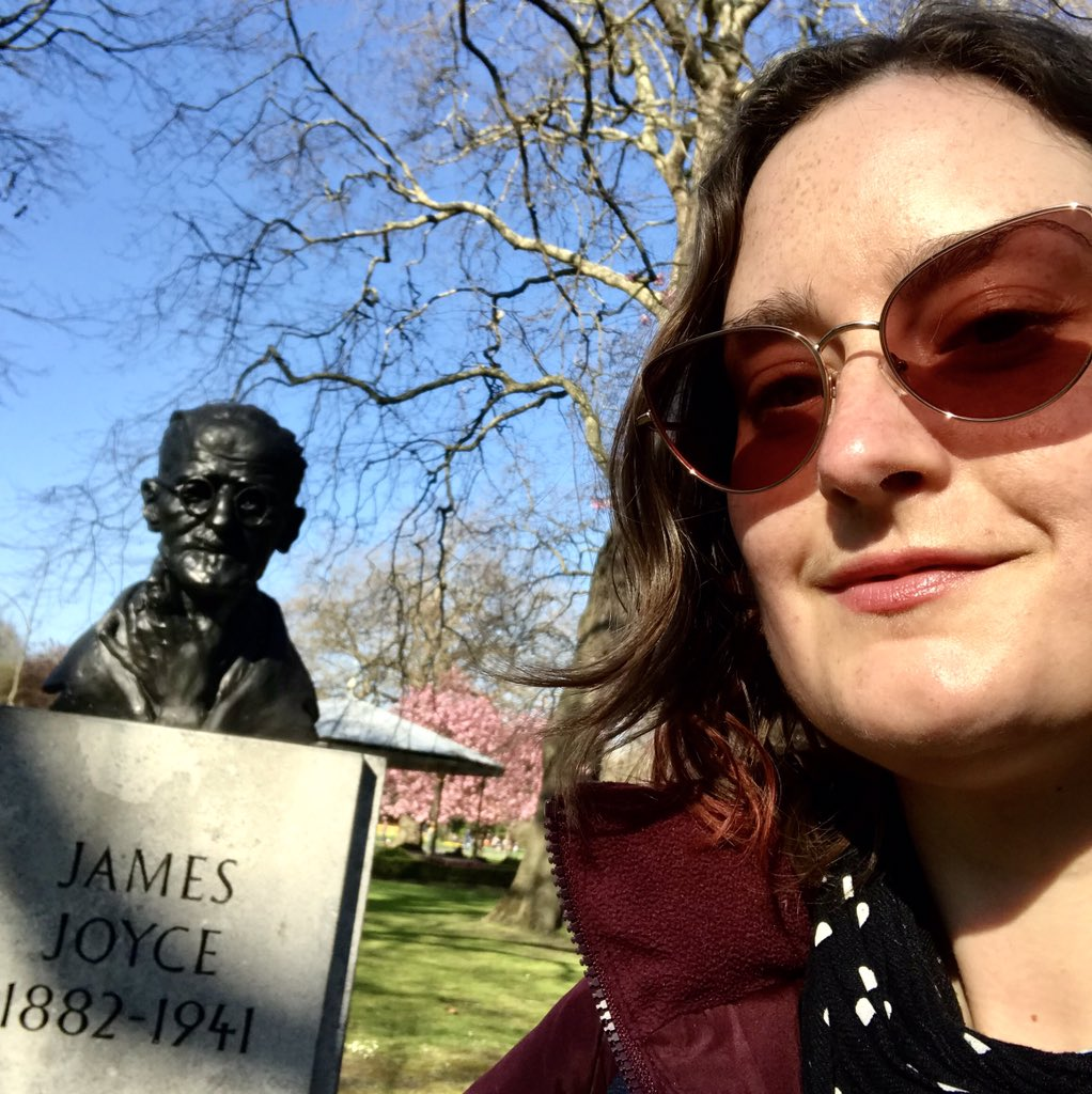 Yer man and me. #JamesJoyce https://t.co/WY8KHqZmWQ