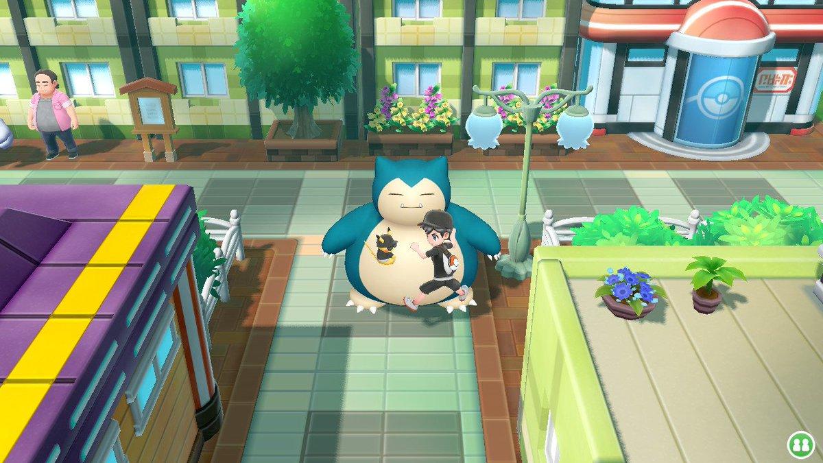 RT @Lancewiththepan: Snorlax is the best tbh #PokemonLetsGo #NintendoSwitch https://t.co/8Z1fxrVsOX