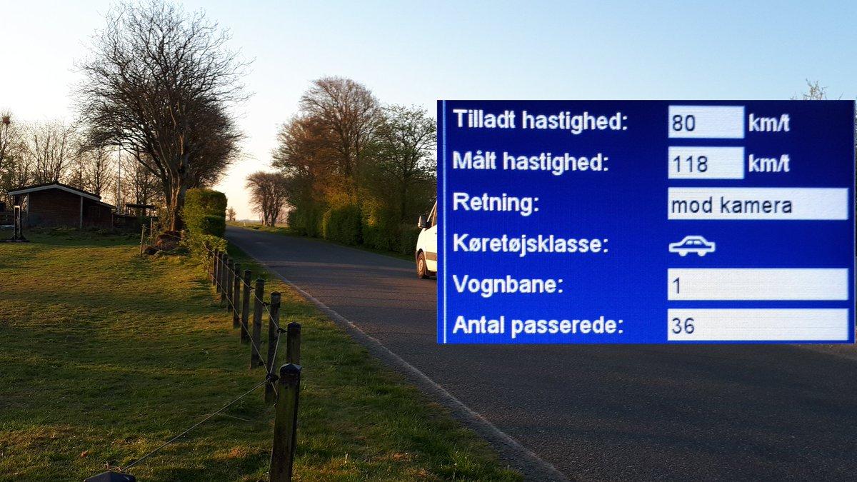 test Twitter Media - Utrygge borgere havde via bestilt en betjent, ønsket at fotovognen kom på Foldingbrovej ved Foldingbro i Vejen kommune, 4 blev blitzet deraf 1 klip hvor der blev kørt 118 km/t. #atkdk #politidk https://t.co/Bxz06vE04v