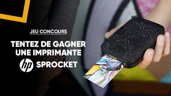 JEU CONCOURS 🎁 | Pour imprimer vos souvenirs ou que vous soyez 🖨, tentez de gagner une imprimante portable #Sprocket de @HP_France 😍 . Pour participer >> RT + Follow @Fnac ➡