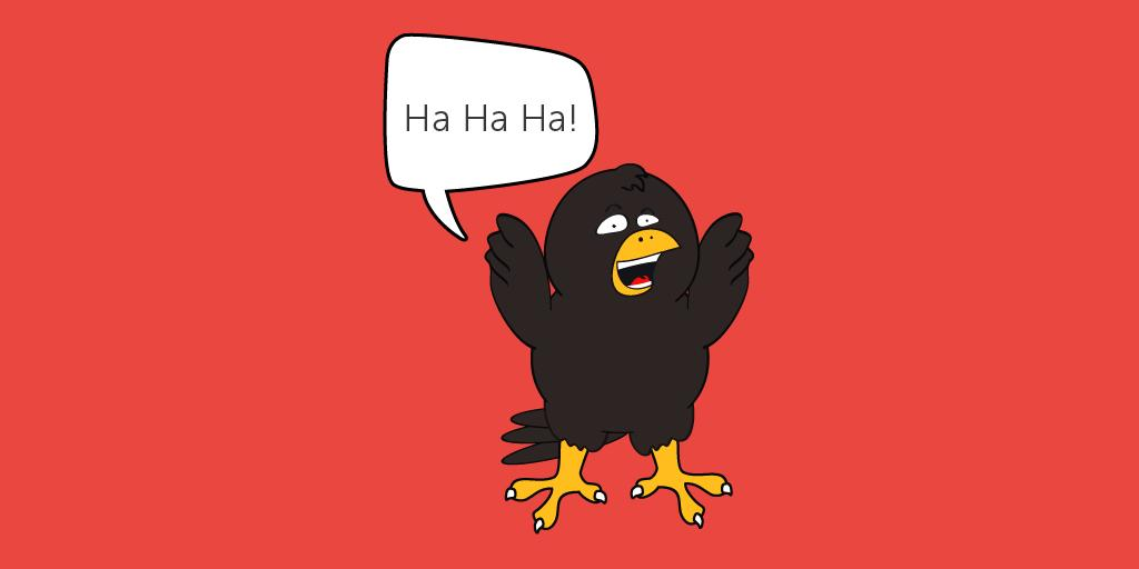 test Twitter Media - Who was the criminal crow running from?  ...The Cawps!  #BadJokes #JoinTheFlock  https://t.co/ENYiNkVX1W https://t.co/gvaX5LiONz