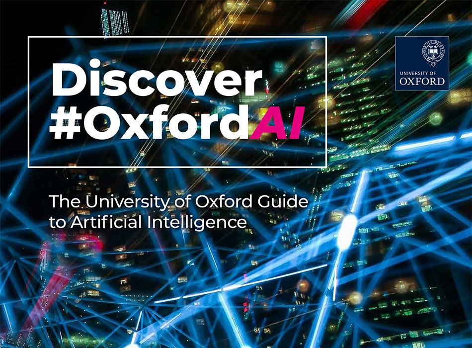 test Twitter Media - @UniofOxford Don't forget the Discover #OxfordAI brochure is now available: Our researchers from all over the world, and from a variety of backgrounds, are working across the full spectrum of AI: #Artificialintelligence #DeepLearning #Robot https://t.co/Oe2u21Vvb2 https://t.co/QJ4y03SIrN