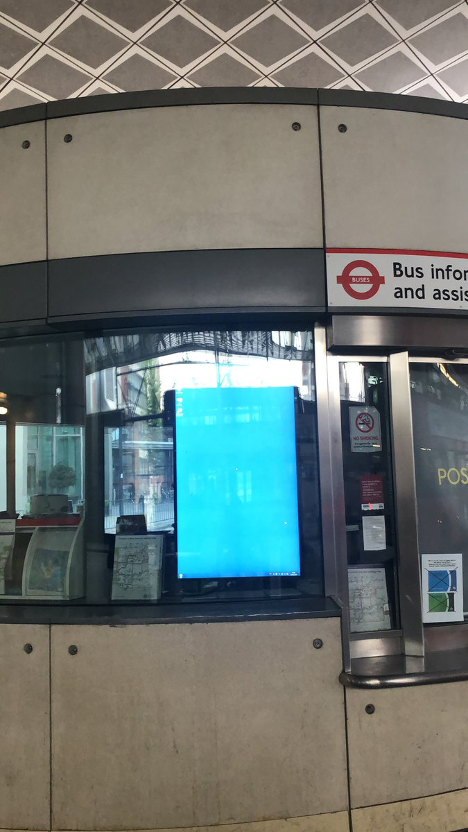 test Twitter Media - Lovely bus schedule by @Tfl  usually works like a charm, but this has been like this over the last week #canadawater #windows8 https://t.co/dgBkuGVXt6