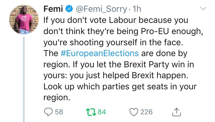test Twitter Media - In EU elections it's a choice between centre right EPP (party of Merkel &  ChUK/TIG) or Socialist PES (party of Corbyn, Costa & @UKLabour ). @Femi_Sorry is right - biggest party nominates the presidents of the EU commission. If we to remain & reform only option to vote Labour. https://t.co/lmgEOLAG5m