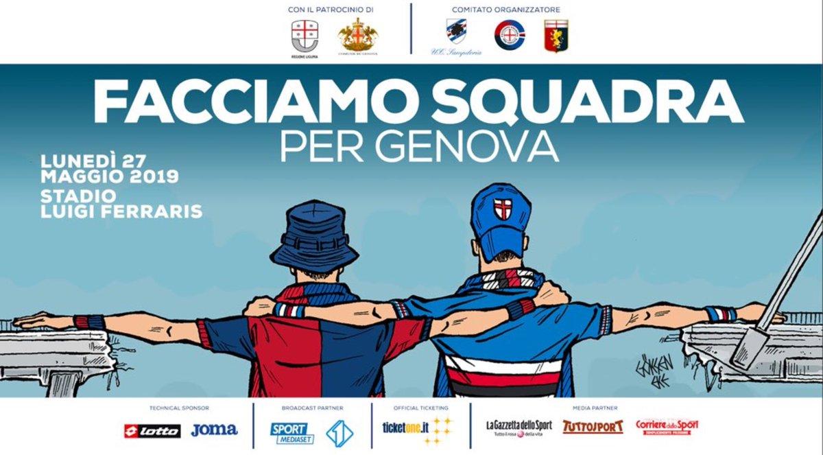 Hét affiche... (Illustratie @caricaturella) #Genova #Genua https://t.co/FdvWLbTy8G