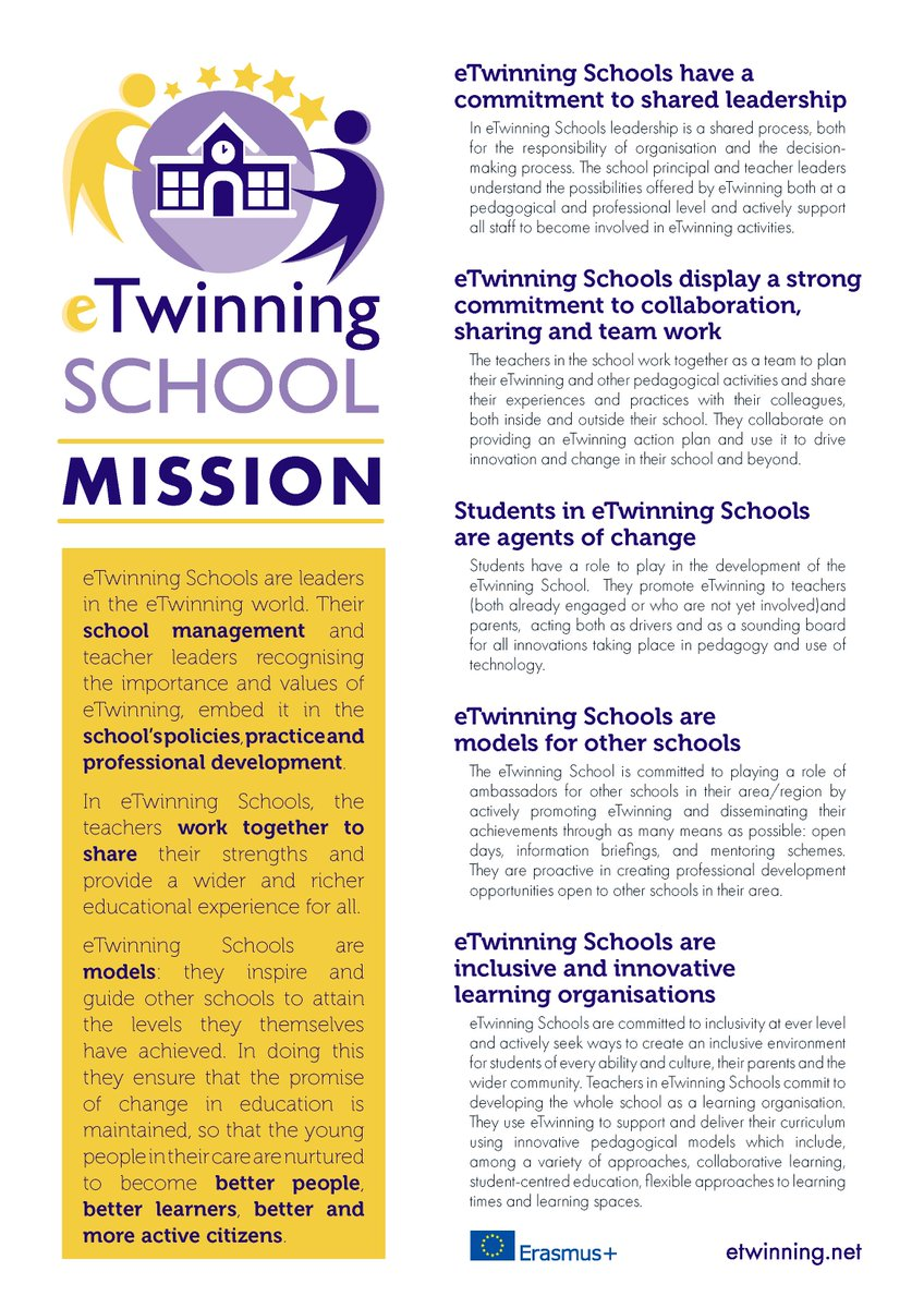 test Twitter Media - 'eTwinning Schools display a strong commitment to collaboration, sharing and team work' - nokkrir punktar um mikilvægi eTwinning skóla: https://t.co/jzfKwSIdxV #eTwinning #eTwinningISL #menntaspjall https://t.co/AdiFK9Nd77