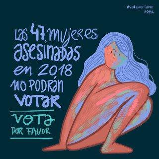 RT @AVAst_Equo: Por las que no están, por las que peligran #NiUnaMenos #MachismoMata #Votaporfavor #Vota28A https://t.co/3W0KiqYDGK