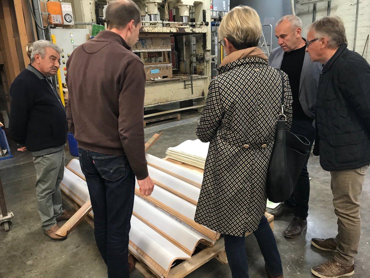 @UC_Senat @UC_Senat visite entreprise @DepVendee Bouillé-Courdault entreprise Cardineau avec les élus