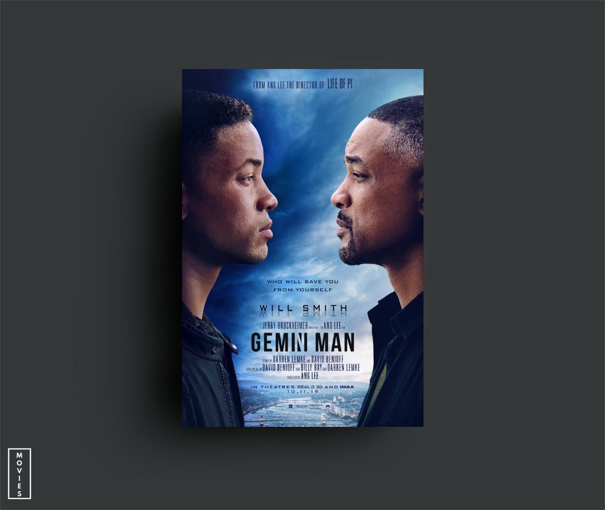 بوستر فيلم الأكشن Gemini Man من بطولة الممثل ويل سميث  وإخراج المخرج آنج لي سيعرض...